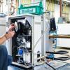 Монтаж котельной, установка напольного котла Vaillant до 40 кВт