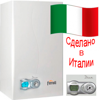 Газовый настенный котел Ferroli Diva C 24