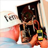 Пусконаладка настенного газового котла Ferroli