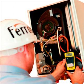 Пусконаладка настенного газового котла Ferroli'
