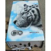 Газовый настенный котел Koreastar Ace-13 E Turbo с аэрографией - Белый тигр