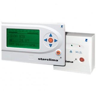 Термостат Sirius 1W беспроводной цифровой модулирующий Open Therm с недельным программированием