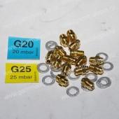 39819700FER Комплект форсунок NG на природный газ D1,35 (15шт⁄комп)