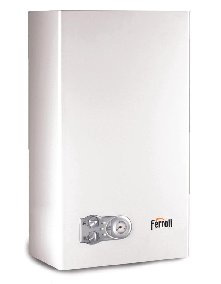 Газовый настенный котел Ferroli Arena F 13