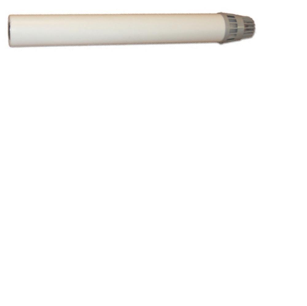 Конечный элемент коаксиального дымохода Ferroli ? 60/100 L=1000 с оголовком (1KWMA56A / KIT A56A)