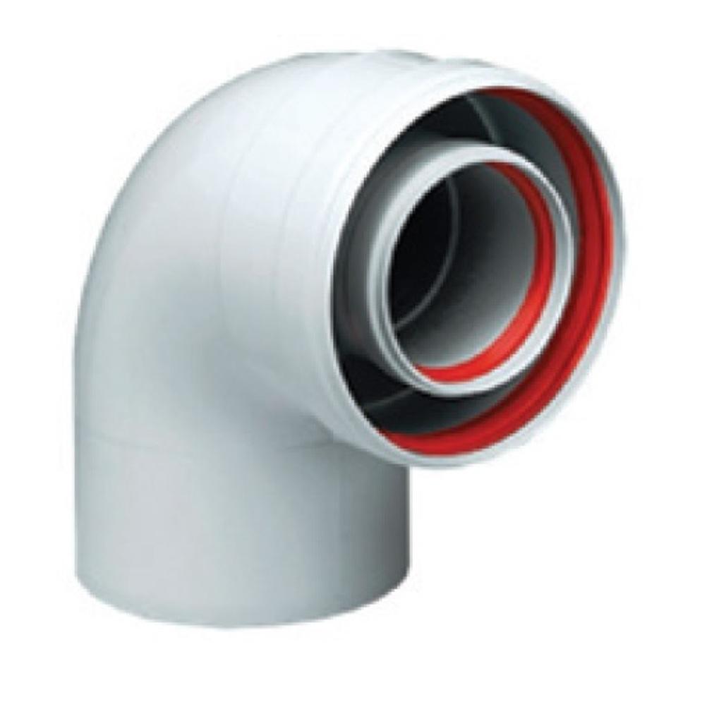 Колено коаксиальное Ferroli 90° МП ? 60/100 (KIT A81W)