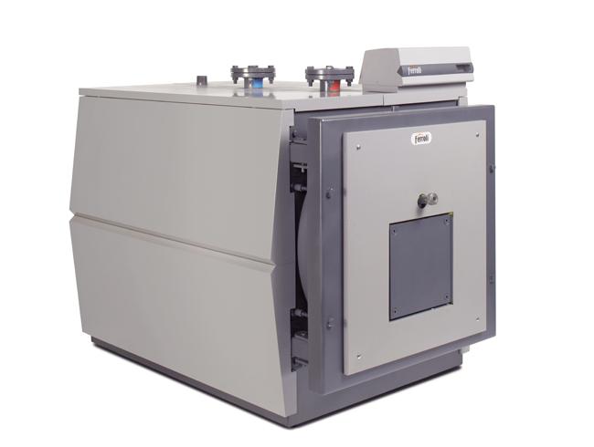 Промышленный жаротрубный водогрейный котел Ferroli Prextherm RSW 92