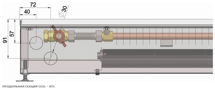 Мощность теплообменников конвектора отопления теплообменник для печи схема
