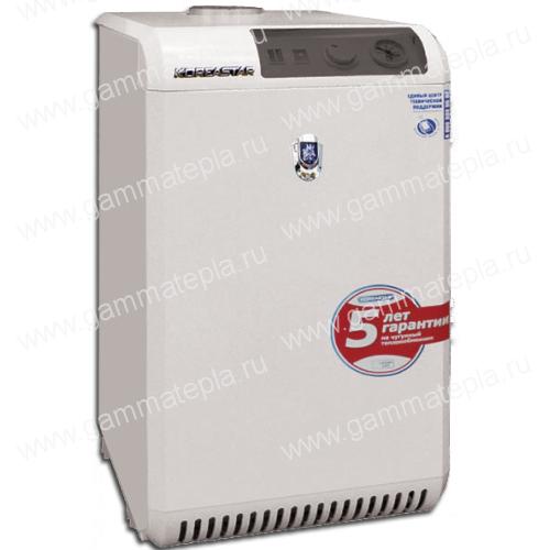 Напольный чугунный энергонезависимый газовый котел Koreastar Senator TP 40